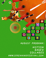 Motion based collages poster