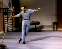 The dancer's cut