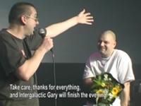 I-f and intergalactic gary - paard van troje